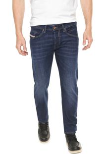 Calça Jeans Diesel Slim Belther Azul