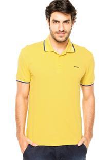 Camisa Polo Sommer Viés Amarela