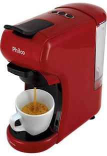 Cafeteira Expresso Multicápsula Philco Pcf19Vp Vermelha - 127V