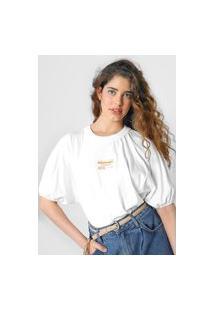 Camiseta Colcci Tag Branca