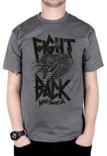 Camiseta Bleed American Fight Back Chumbo