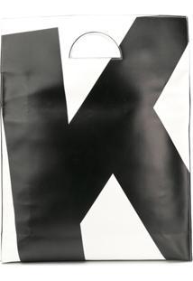 Kappa Kontroll Bolsa Tote 'K Initial' - Preto