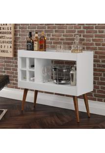 Aparador Bar Com Adega Laguna - Branco - Rpm Mã³Veis - Incolor - Dafiti