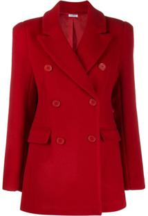 P.A.R.O.S.H. Double Breasted Jacket - Vermelho