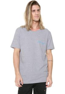 Camiseta Ed Hardy Puffy Cinza