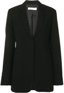 Victoria Beckham Blazer Com Fechamento Frontal Oculto - Preto