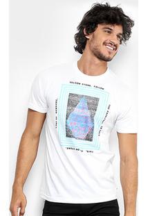 Camiseta Volcom Slim Static Stone Masculina - Masculino