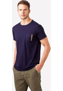 Tshirt Foxton Indigo India Masculina - Masculino