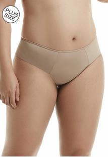 Calcinha Basica Com Lateral Dupla Mondress - Marrom