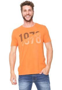 Camiseta Calvin Klein Jeans 1978 Laranja