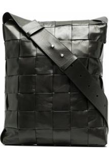 Bottega Veneta Intrecciato Shoulder Bag - Verde