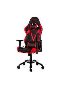 Cadeira Valkyrie Giratória E Reclinável Preta E Vermelha - Dxracer