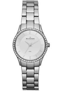 Relógio Skagen Feminino - Feminino-Prata