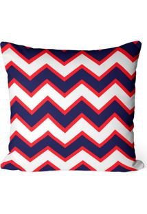 Capa De Almofada Love Decor Avulsa Decorativa Chevron Roxo
