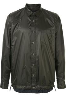 Sacai Drawstring Buttoned Shirt - Preto
