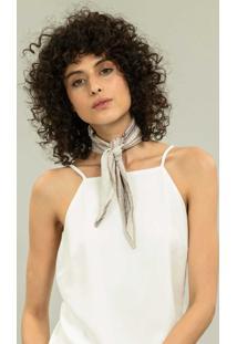 Blusa Com Alças E Laço Branco Off White - Lez A Lez