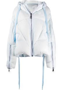 Khrisjoy Oversized Puffer Jacket - Azul