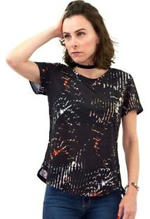 Camiseta Morena Rosa Minha Morena Feminino - Feminino-Preto