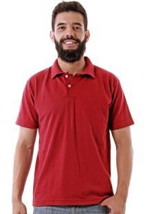 Camisa Polo Básica Oitavo Ato Bordô
