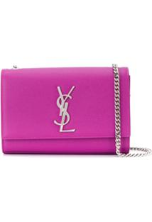 Saint Laurent Kate Small Shoulder Bag - Rosa
