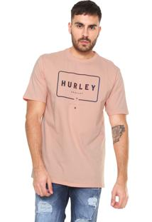 Camiseta Hurley Mixed Up Coral