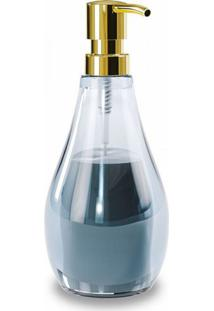 Porta Sabonete Liquido Droplet Denim Umbra