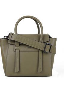 Bolsa Colcci Handbag Lisa Alca Larga Feminina - Feminino-Verde