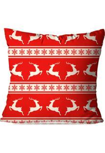 Capa De Almofada Love Decor Avulsa Decorativa Funny Cervo