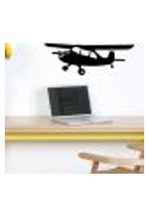 Adesivo De Parede Avião Teco Teco - Es 75X209Cm