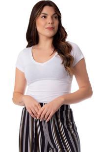Blusa Feminina Ki Beleza Branco - P