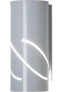 Arandela De Alumínio Flash Branca