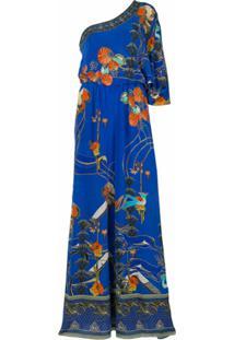Camilla Macacão Tree Of Life - Azul