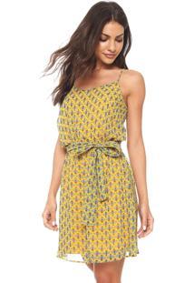 e834f6d5e Vestido Amarelo Colcci feminino   Shoelover