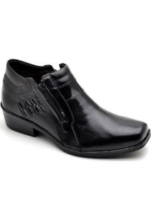Bota Top Franca Shoes Casual - Masculino-Preto