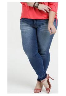 b8d6d9dca Marisa. Calça Feminina Jeans Skinny Plus Size Biotipo