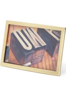 Porta Retrato Senza 10X15 Dourado Umbra