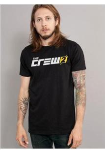 Camiseta Bandup The Crew 2 Logo - Masculino-Preto