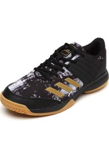 Tênis Adidas Ligra 5 Preto/Dourado