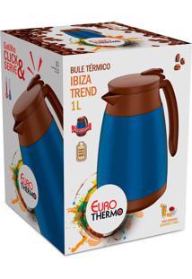 Bule Térmico Ibiza Trend 1 Litro Azul Euro Home