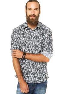 Camisa Zapälla Reta Multicolorida