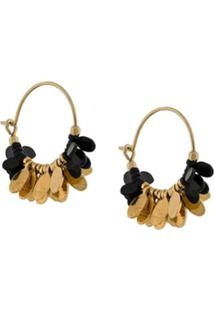 Isabel Marant Par De Brincos New Leaves - Preto