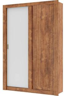 Guarda-Roupa 2 Portas Carraro Elus 1094 Native Branco Se