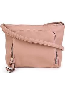 Bolsa Pagani Mini Bag Feminina - Feminino-Nude