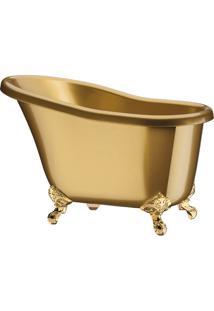 Champanheira Banheira Suprema Ps Dourada Marmorizada 7,8 Litros Boccati