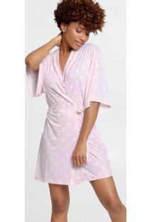 Robe Feminino Liganete Estampa Bolinhas Marisa