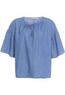 Blusa Feminina Leslie - Azul