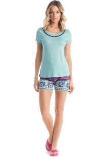Short Doll Jade - P337 Azul/P