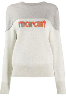 Isabel Marant Étoile Two Tone Pullover - Cinza