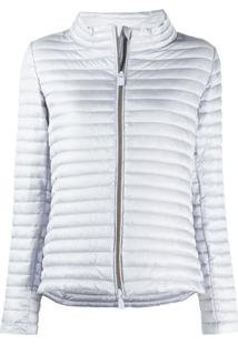 Save The Duck Quilted Puffer Jacket - Azul