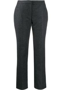 Alexander Mcqueen Straight Leg Trousers - Cinza